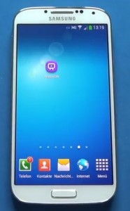 Samsung Galaxy S4 télécommande télévision