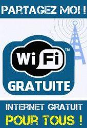 Codes gratuits pour le wifi